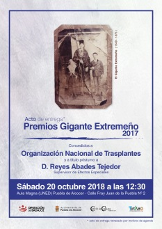 Premios Gigante Extremeño 2017
