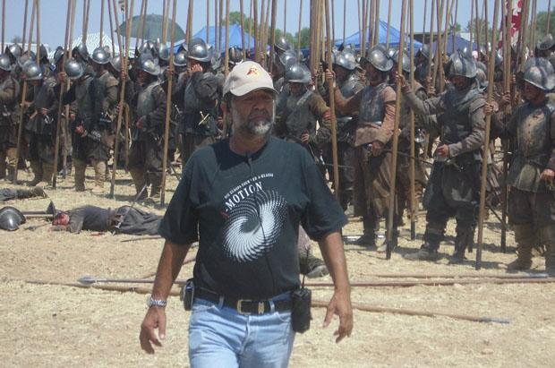 Reyes Abades  y la O.N.T. premios Gigante Extremeño 2017